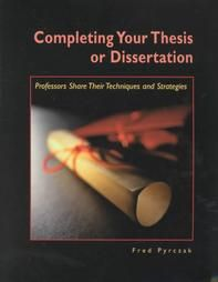 Dissertation Or Thesis