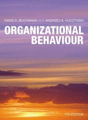 huczynski and buchanan Books by andrzej huczynski andrzej huczynski average rating 389 114 ratings 4 reviews shelved 482 times showing 17 distinct works sort by exploring corporate strategy: text and cases: and organizational behaviour, an  david a buchanan, andrzej huczynski.