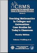 Teaching Mathematics In Colleges And Universities (9780821828755)