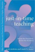 Just-in-time teaching:across the disciplines, across the academy (9781579222932)