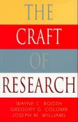The Craft Of Research (Chicago Guides To Writing, Editing, And Publishing) (9780226065847)