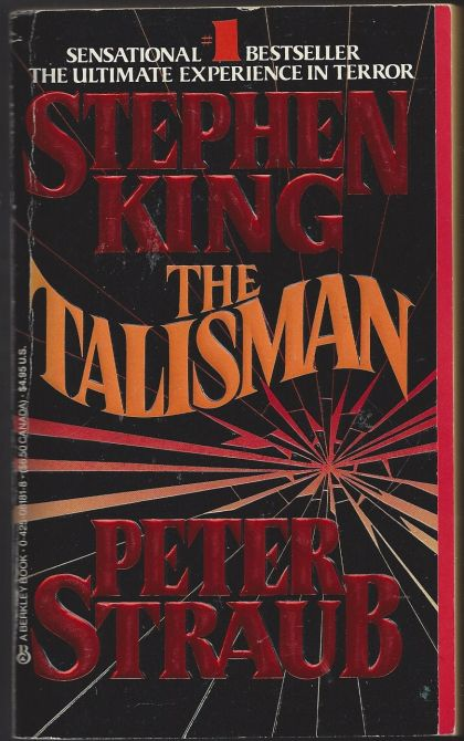 """the talisman Despite their similar career arcs, steven spielberg and stephen king have never actually worked together that may finally change with """"the talisman,"""" a fantasy/horror novel king co-wrote with peter straub in 1984 the two steves spoke to entertainment weekly about their would-be collaborations."""