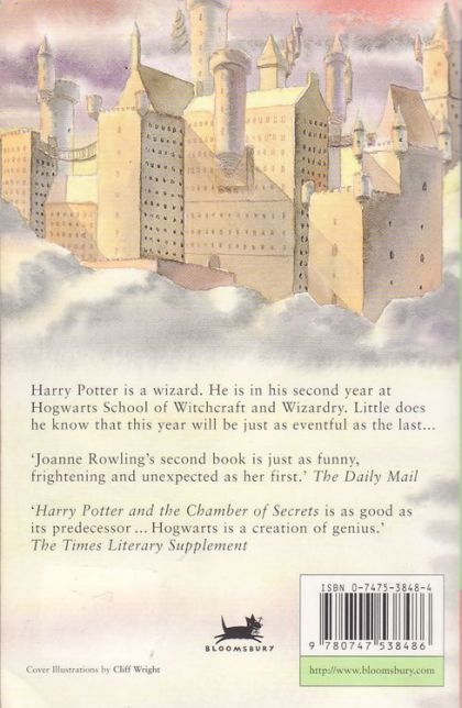 book report on harry potter and the chamber of secrets The book report network skip to main harry potter and the chamber of secrets, book 2 and research eventually lead harry and ron to the chamber of secrets.