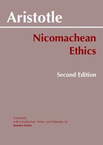 literary analysis of the nicomachian ethics by aristotle