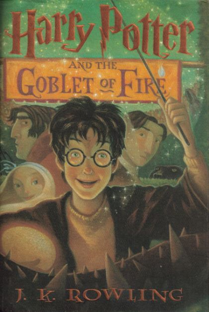 Harry Potter Book Genre : J k rowling harry potter and the goblet of fire