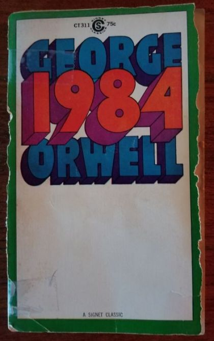a grim prediction of the future in george orwells novel 1984 George orwell knew what our future held a fictional world created almost 70 years ago a poster from a bbc tv production of george orwell's classic novel '1984.